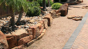 Rock Edging / Retaining Walls