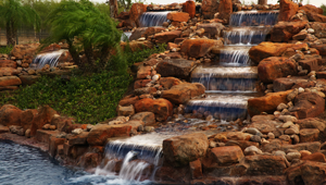 Waterfalls and Water Features